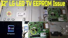 32 inch lg led tv eeprom issue detail in urdu - Eeprom Tv Lg