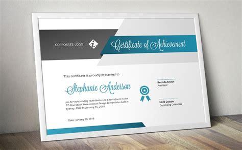 script certificate template docx stationery templates creative market