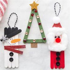 diy craft stick santa snowman craft for kids popsicle stick crafts crafts popsicle stick crafts craft stick