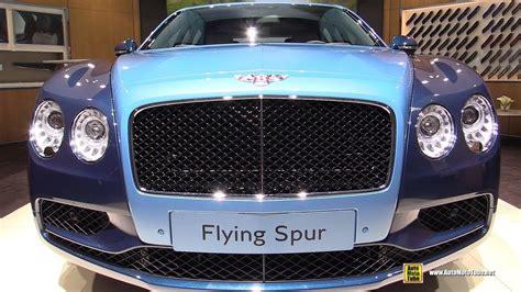 2018 bentley flying spur mulliner exterior interior walkaround
