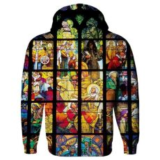 tde hoodie stained glass stained glass hoodie shelfies