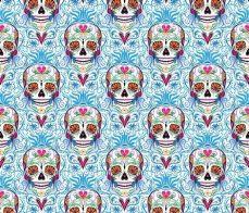 sugar skull damask wallpaper sugar skull damask dianne annelli spoonflower skull wallpaper sugar skull skull