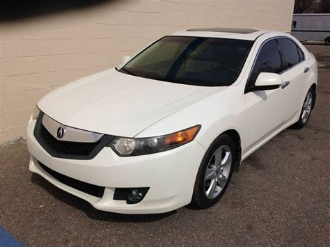 2009 acura tsx sale owner clinton township mi