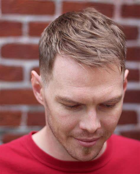 7 receding hairline haircuts great conceal hair loss