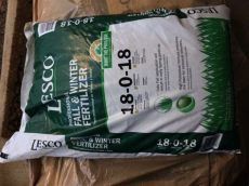 lesco fall winter fertilizer 9 x 50lb lesco fall winter fertilizer 18 0 18 for sale in mint hill nc offerup
