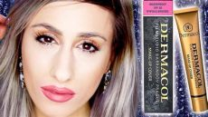 dermacol makeup cover foundation review ebay makeup 163 5 coverage foundation dermacol makeup cover review swatches demo