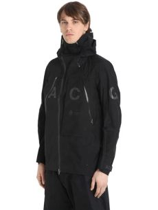 nikelab acg jacket black lyst nike nikelab acg alpine jacket in black for