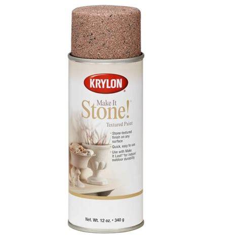 krylon 12 oz charcoal sand stone spray paint