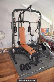 venta de aparatos para hacer ejercicio usados maquina multiestacion musculacion y pesas domyos mejor precio unprecio es