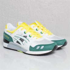 asics gel lyte iii og colorway asics gel lyte iii white green yellow og colorway sole collector