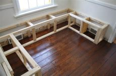 diy corner bench with storage restoring the splendor house restorations home renovations home improvements