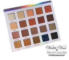 violet voss nicol concilio palette boots violet voss nicol concilio eye shadow palette beautyspot malaysia s health store