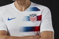 nike soccer kits 2018 nike release usa home away kits for 2018 soccer cleats 101