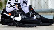 air max 90 off white black white nike air max 90 black cone white aa7293 001 release date sole collector