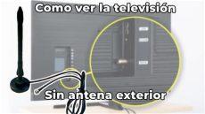 ver la tele sin toma antena como ver la televisi 243 n antena exterior antena interior para tv para ver canales en tu tele