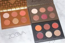 zoeva mini voyager cocoa blend eyeshadow palette zoeva voyager collection review swatches travel editions
