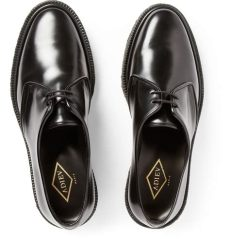lyst adieu type 1 polished leather crepe soled derby shoes in black for - Adieu Shoes Sizing