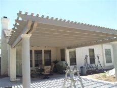 aluminum patio cover replacement parts aluminum patio covers az backyard pergola covers awnings