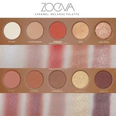 zoeva caramel melange palette review and swatches xueqi s episode - Zoeva Caramel Melange Palette Review
