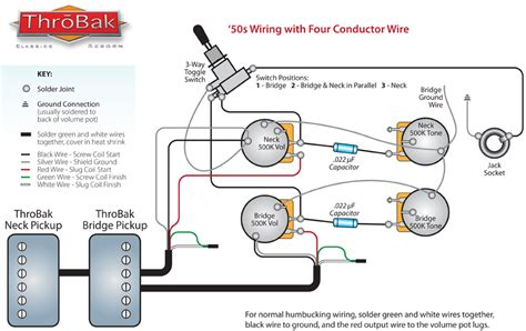 throbak 50 4 conductor wiring