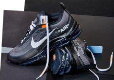 white nike air max 97 black aj4585 001 release date sbd - Nike Off White Air Max 97 Black