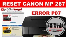 fix canon error p07 5b02 how to reset cara reset canon mp 287 canon mp 287 error p07 the ink absorber is almost error number