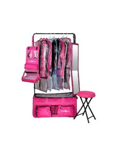dance bag with rack canada pack 2 rack rolling foldable bag bags best