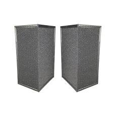 rangaire hood rangaire model h744 231 aluminum mesh l shaped range filter