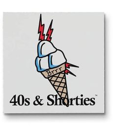 40 s shorties brrr sticker zumiez - 40s And Shorties Wallpaper