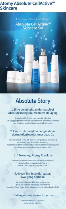 product atomy indonesia atomy absolute cellactive oule atomy indonesia network