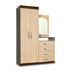 modelos de roperos de madera con espejo ropero con espejo tocador bali 2 puertas 4 cajones promart