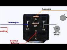 como se conecta un relevador como conectar un relevador relay