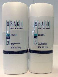 obagi blender vs clear obagi nu derm clear fx 2 oz blend fx 2 oz brand new sealed lightening