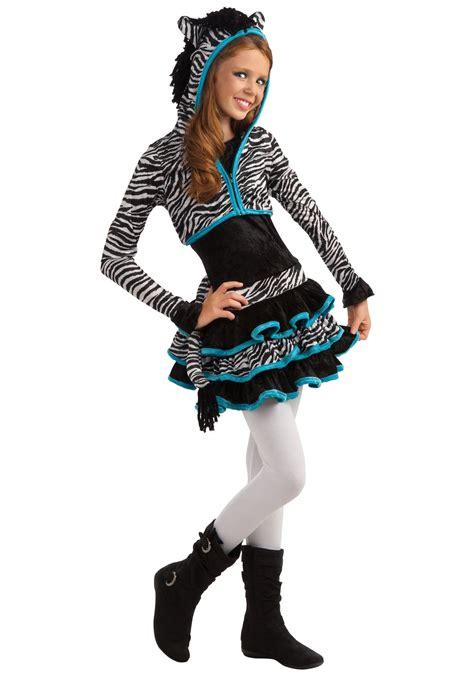 unique tween halloween costumes tween zebra costume tween