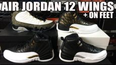 jordan 12 wings exposed air 12 wings exposed w playoff comparison review on