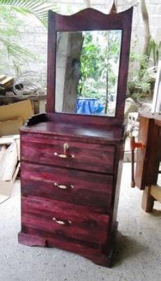 gaveteros de madera con espejo haciendo un peque 241 o gavetero de madera piense algo y sienta hondo