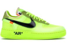 nike air force 1 x off white green nike air 1 low white volt ao4606 700