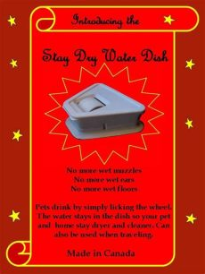 stay dry water dish uk stay water dish keeps muzzles and floors and clean custom coats custom your pet