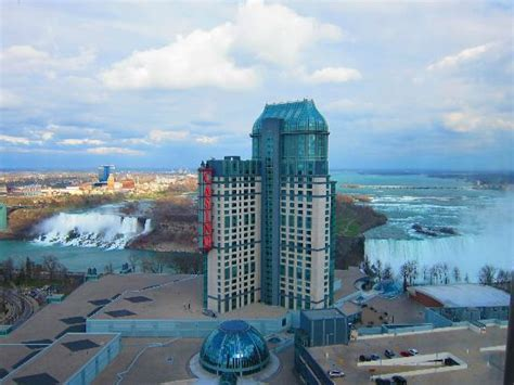great view picture hilton niagara falls fallsview hotel
