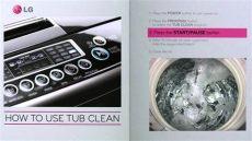 como resetear una lavadora lg c 243 mo limpiar el tambor de tu lavadora lg