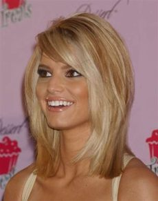 jessica simpson medium hair 12 pictures of hairstyles haircuts girlshue