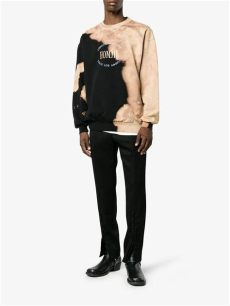 balenciaga homme sweater sizing balenciaga cotton oversize homme sweater in black for lyst