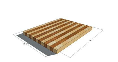 build butcher block cutting board design confidential