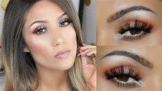 morphe 350m makeup looks morphe 350 tutorial easy bronze makeup look