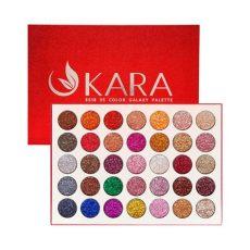 kara 35 color galaxy stardust glitter eyeshadow palette es18 ikatehouse - Kara Glitter