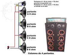 como conectar 2 parlantes en serie conexiones muy simples para parlantes crossover pasivo audio