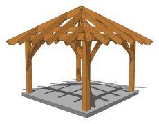 12x12 hip roof pavilion plans 12 x 12 gazebo plan in 2020 gazebo plans gazebo timber frame plans