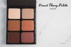 viseart theory palette swatches viseart theory palettes chroma minx review swatch photos thefabzilla
