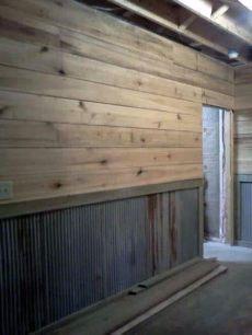 top 70 best garage wall ideas masculine interior designs - Metal Garage Interior Wall Ideas