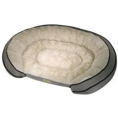 poochplanet dog bed cleaning poochplanet grand comfort pet bed grey 42 quot x 30 quot samsclub auctions